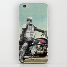 Looking for the drones, VW Scout Trooper Motorbike iPhone & iPod Skin