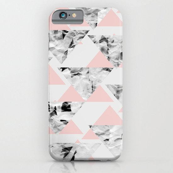 Pink Triangles iPhone & iPod Case