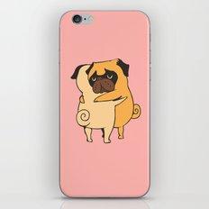 Pug Hugs iPhone & iPod Skin