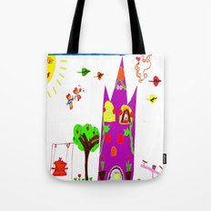 Playground Castle Tote Bag