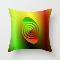 Together Entwined as One Throw Pillow