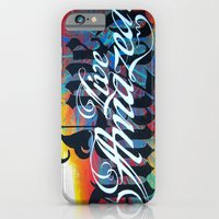 iPhone & iPod Case featuring Live Amazed! by Inspireuart
