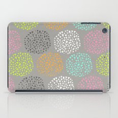 Flowers-triangles iPad Case