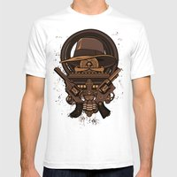 Fortune & Glory Mens Fitted Tee White SMALL