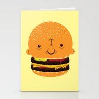 Cheeseburgerhead Stationery Cards