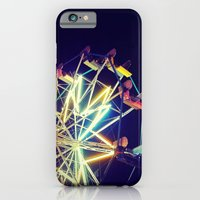 iPhone & iPod Case featuring Ferris Wheel by Mercedes Lopez