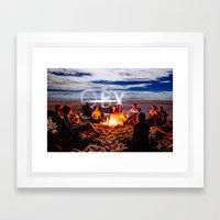 OBX! Framed Art Print