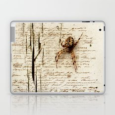 Spider Letter Laptop & iPad Skin