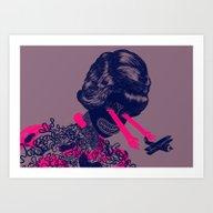 Look Into My Beautiful E… Art Print