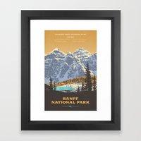 Banff National Park Framed Art Print