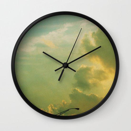 Sunday Night Lights Wall Clock