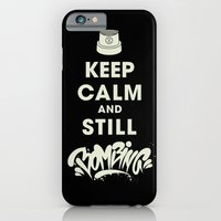 iPhone & iPod Case featuring Keep Bombing by squadcore