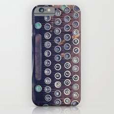 qwerty iPhone 6s Slim Case