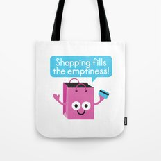 Retail Therapy Tote Bag