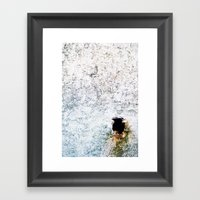 Hole Framed Art Print