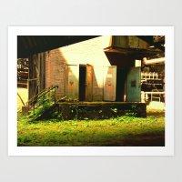 GreenHouse Art Print
