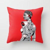 Life On Mars #1 Throw Pillow