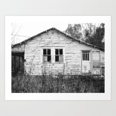 houseghost 21 Art Print