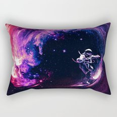 Space Surfing Rectangular Pillow