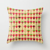 Non-player character Throw Pillow