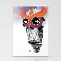 Owlin' it Stationery Cards