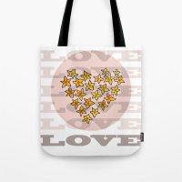 LOVE XX Tote Bag
