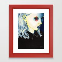 Close Up 6 Framed Art Print