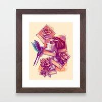 Kiss From a Rose Framed Art Print