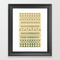 Earthtone Framed Art Print