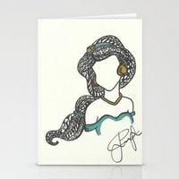 Princess Jasmine Zen Tan… Stationery Cards