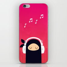 Music Ninja iPhone & iPod Skin