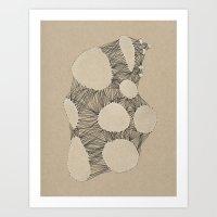 Kraft Konstruction Art Print