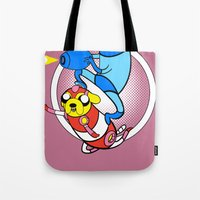 Jump and shoot time!! Tote Bag
