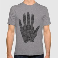 The Creating Hand Mens Fitted Tee Athletic Grey SMALL