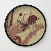 Helvete Forest Wall Clock