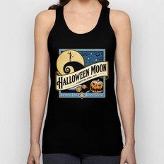 Halloween Moon Unisex Tank Top