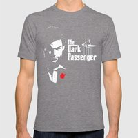 The Dark Passenger Mens Fitted Tee Tri-Grey SMALL