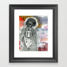 Prayer to the Mystery Framed Art Print