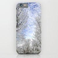 Magical Snow Trees  iPhone 6 Slim Case