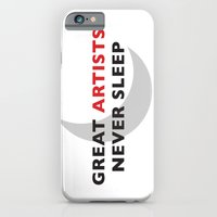 iPhone & iPod Case featuring Great Artists Never Sleep by Interstellar