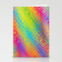 inca rainbow Stationery Cards