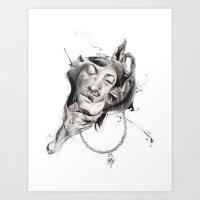 P.O.A.M (Portrait Of A M… Art Print
