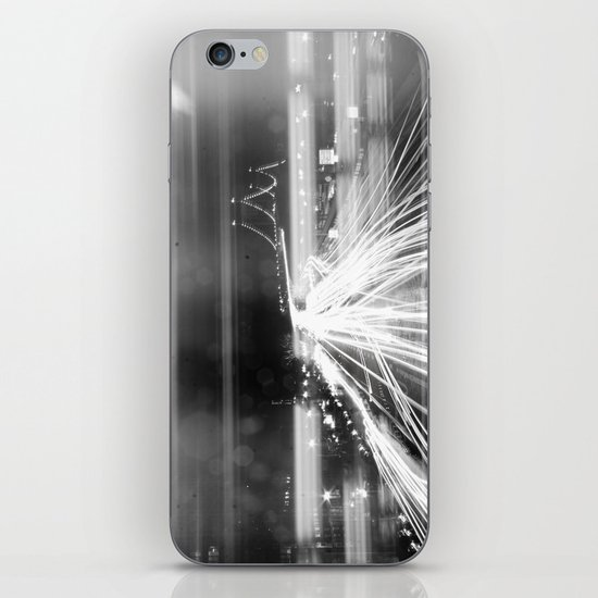 The Night Vibes Electric iPhone & iPod Skin