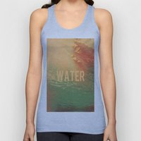 Water Unisex Tank Top