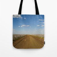 Cotton Fields In Brazil Tote Bag