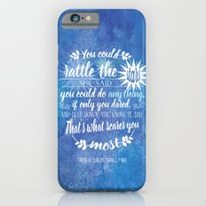 Throne of Glass by Sarah J. Maas Book Quote - Rattle The Stars iPhone 6 Slim Case