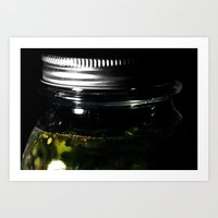 Pickled Peppers Art Print
