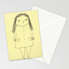 Drawings of me being angry Stationery Cards