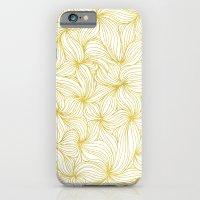 Golden Doodle floral iPhone 6 Slim Case