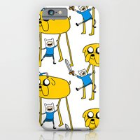 Adventure Time - Jake & Finn iPhone 6 Slim Case